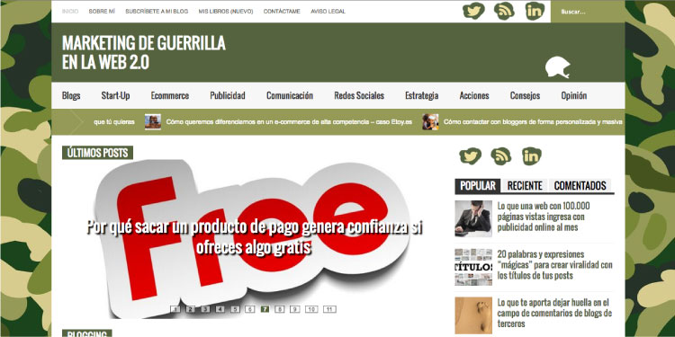 7 blogs publicidad mis gafas de pasta marketing guerrilla