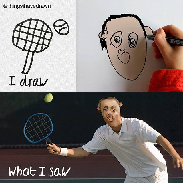 things i have drawn mis gafas de pasta10