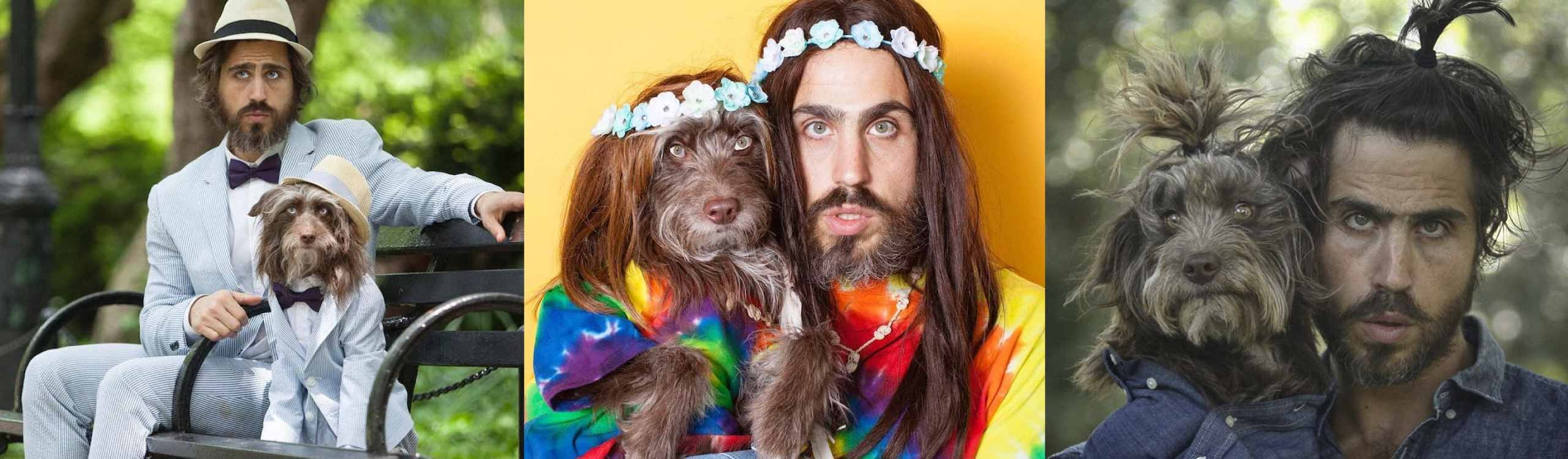 perros que se parecen a sus dueños, el perfil de instagram de topher brophy