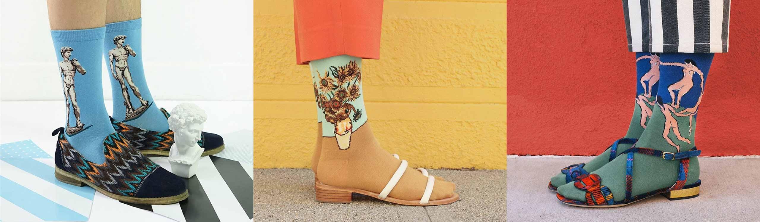 calcetines artísticos, el regalo que debería hacerte tu madre en navidad