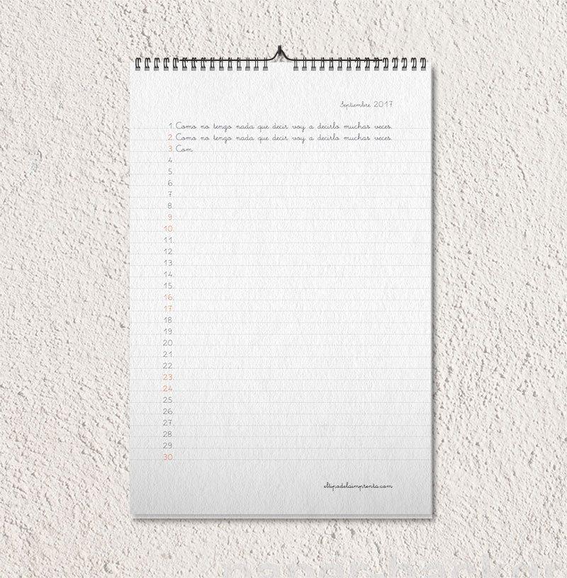 el tipo de la imprenta calendario mis gafas de pasta09