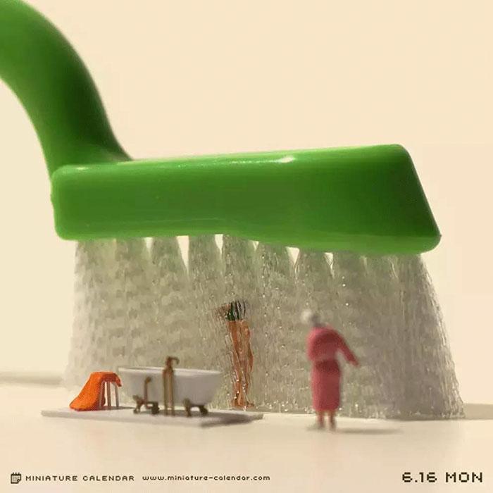 miniature calendar mis gafas de pasta04