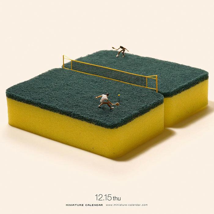 miniature calendar mis gafas de pasta19