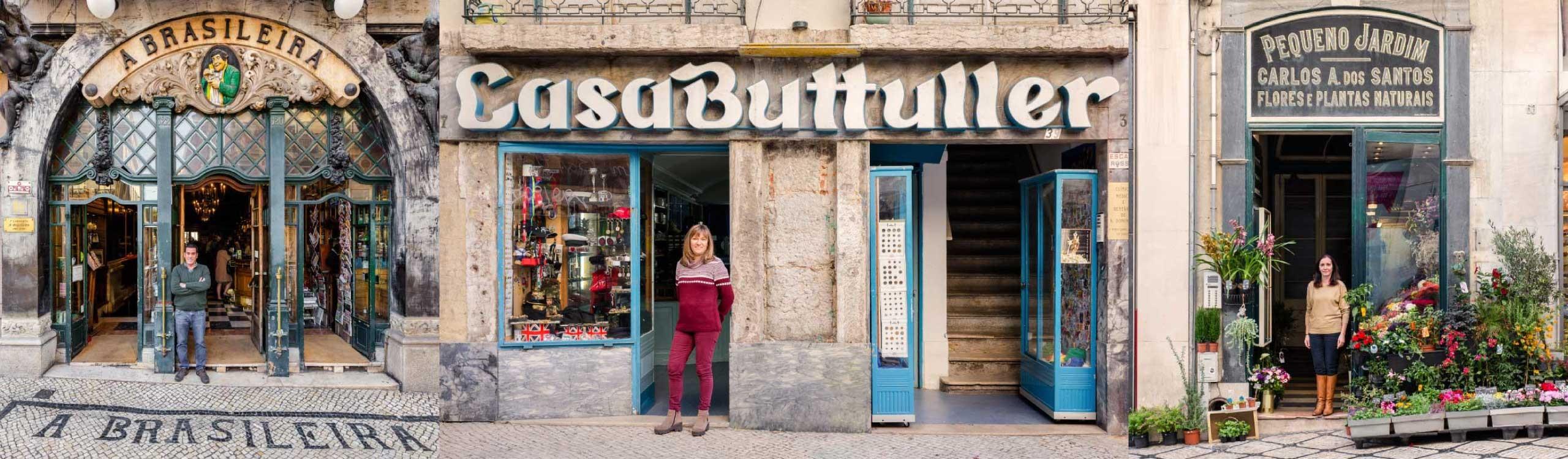 lisboa re-tale, los comercios más bellos de la ciudad fotografiados por sebastian erras