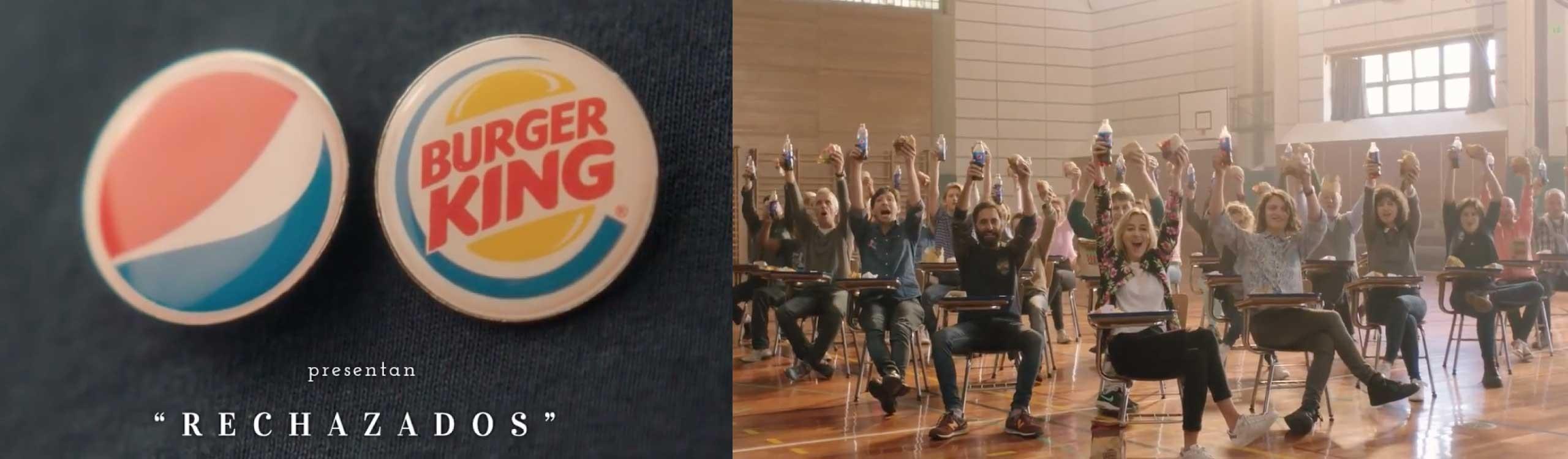 pepsi y burger king lanzan una divertida campaña contra coca-cola y mcdonald's en argentina