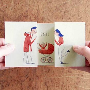 jackes and lise tarjetas de felicitacion mis gafas de pasta destacado
