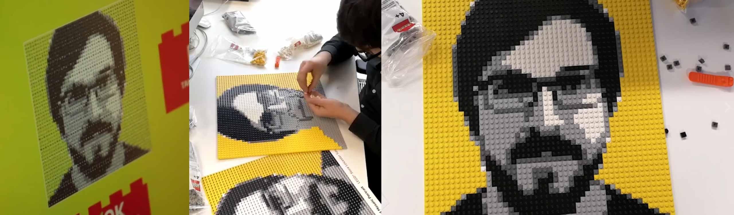 lego inventa una máquina que te hace una foto y la convierte en un puzzle para que lo hagas en casa