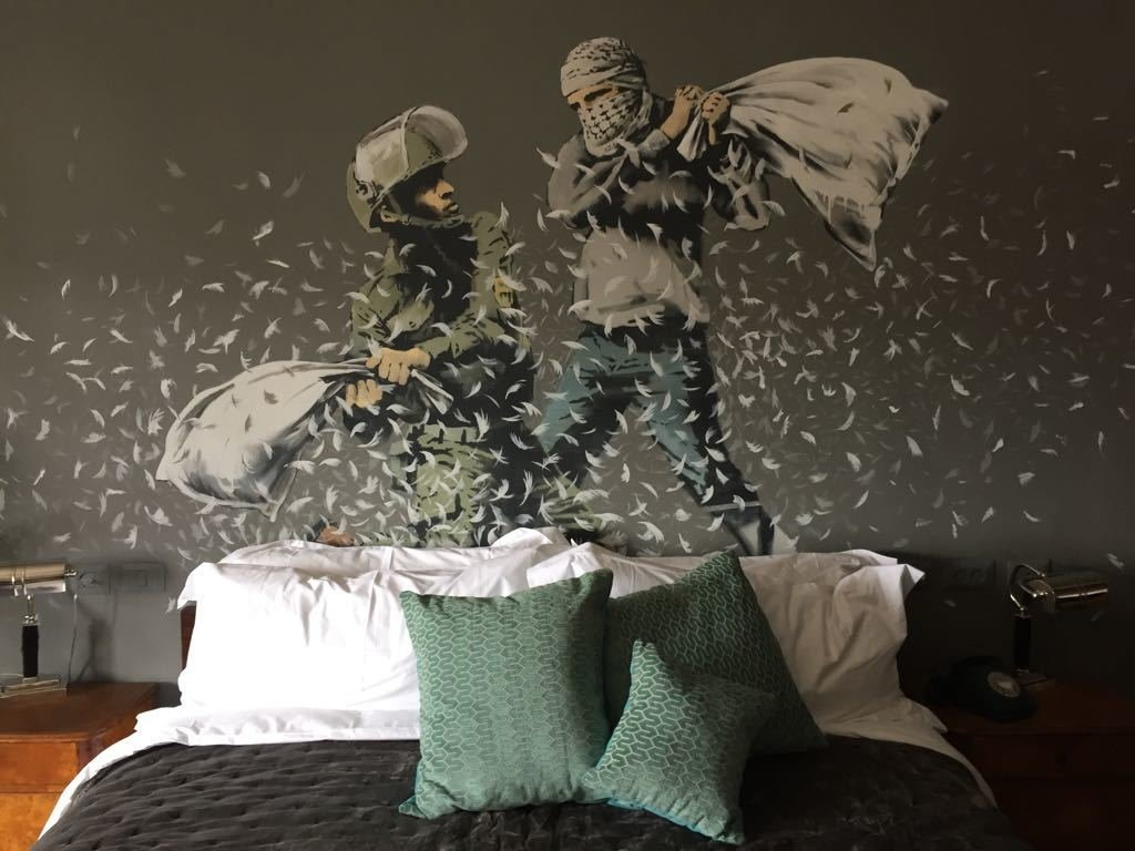 banksy the walled off hotel01