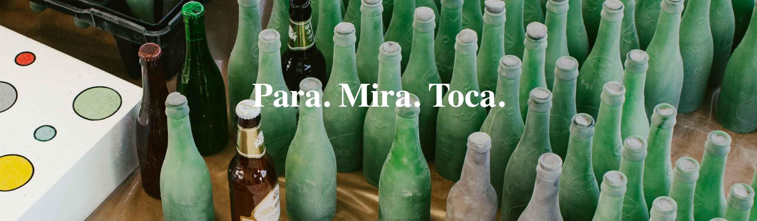 para. mira. toca. cervezas alhambra y álvaro catalán de ocón nos invitan a parar y sentir más