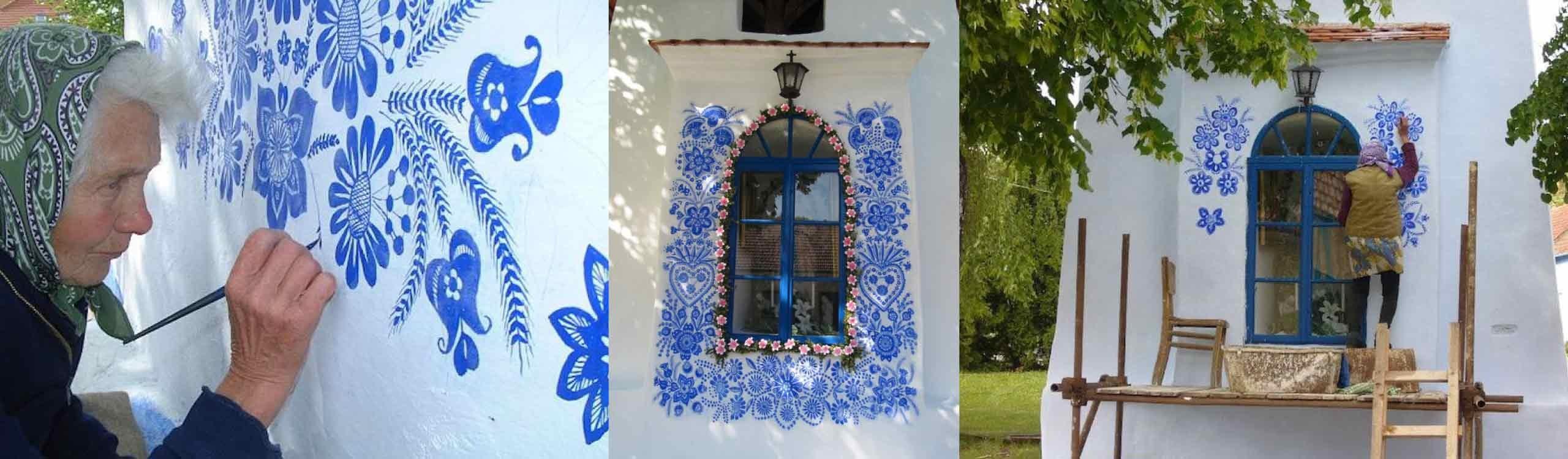 esta abuela checa de 90 años está convirtiendo un pueblo en su propia galería de arte