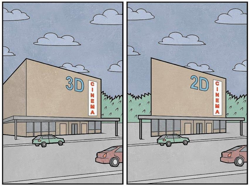 anton gudim ilustraciones improbables mis gafas de pasta12