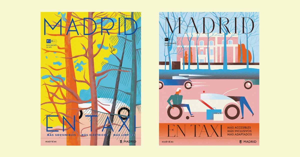 madrid en taxi, la campaña del ayuntamiento de madrid que ha enamorado a todos