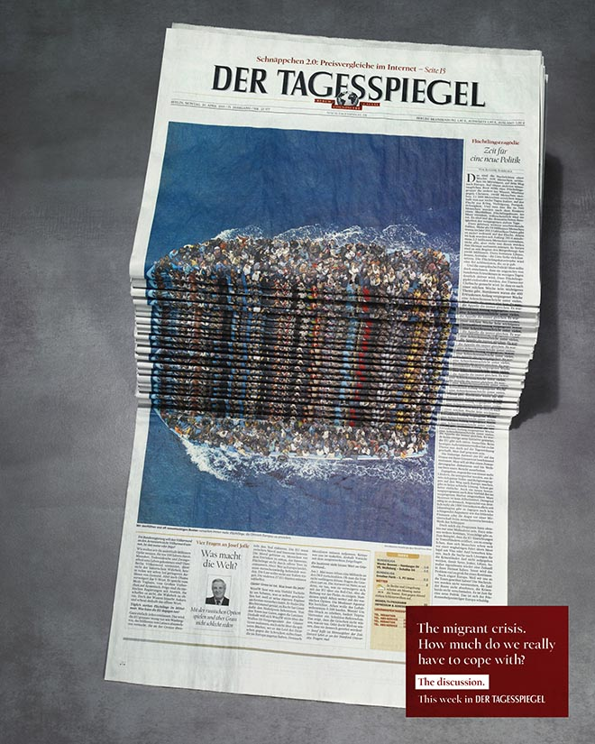 tagesspiegel-newspaper-stack-refugees