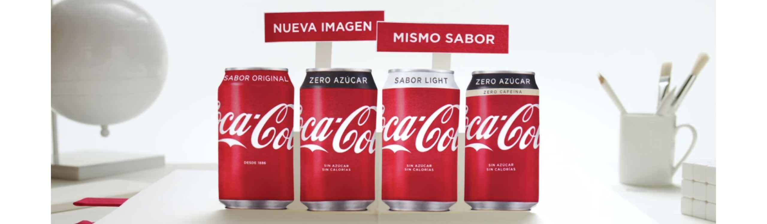 coca-cola estrena nuevo packaging destacado