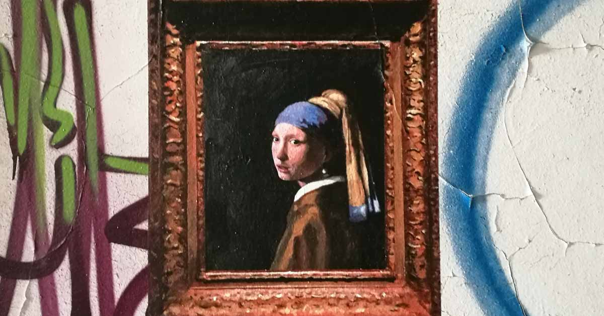 julio anaya cabanding: el artista malagueño que lleva las pinturas clásicas a los muros de málaga