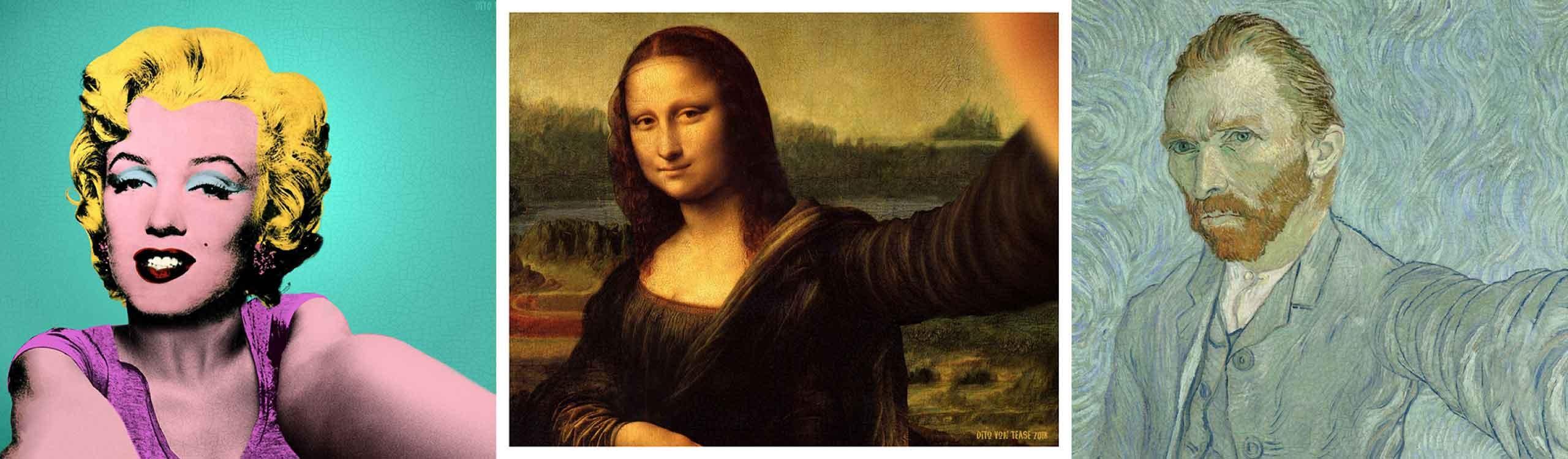 classicool, el proyecto que convierte obras de arte famosas en su versión selfie